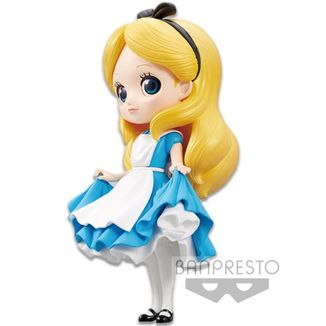 Figura Alicia Q Posket Disney Characters Alicia En El País De Las Maravillas