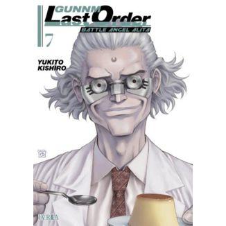 Gunnm Last Order Battle Angel Alita #07 Manga Oficial Ivrea