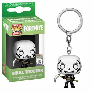 Llavero Skull Trooper Fortnite POP!