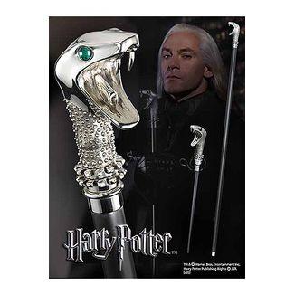 Varita / Bastón Lucius Malfoy - Réplica Oficial Harry Potter