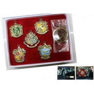 Set de Colgantes Harry Potter - Emblemas
