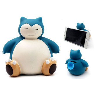 Mobile Phone Holder and Coin Bank Pokemon - Snorlax