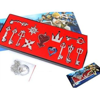 Set Colgante Kingdom Hearts - Llaves Espada #2