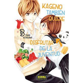 Kageno También Quiere Disfrutar De La Juventud #03 Manga Oficial Norma Editorial