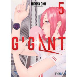 Gigant #05 (spanish) Manga Oficial Ivrea