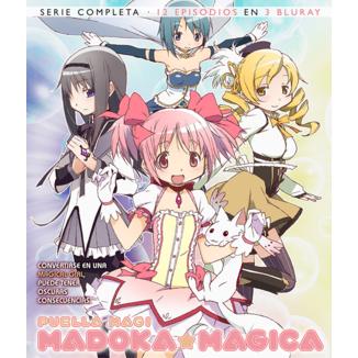 Complete Serie Puella Magi Madoka Magica Bluray