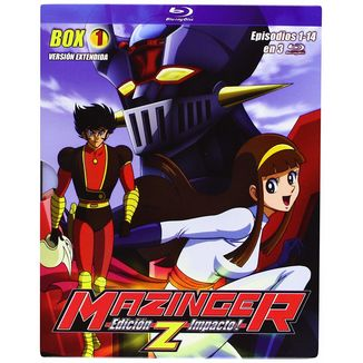 Edicion Impacto! Mazinger Z Box 1 Bluray