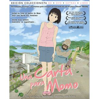 Bluray Una Carta Para Momo Collector's Edition Bluray