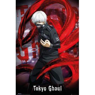 Póster Ken Kaneki Tokyo Ghoul