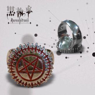 Anillo Kuroshitsuji - Pentagrama