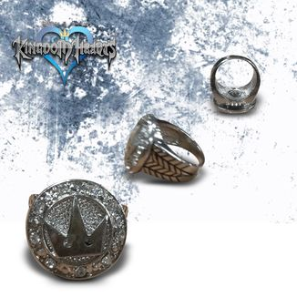 Anillo Kingdom Hearts - Corona Giratoria