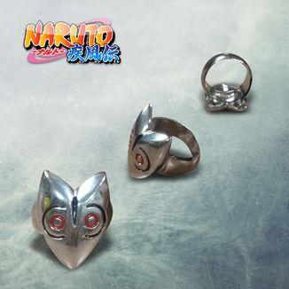 Anillo Naruto - Máscara Ambu
