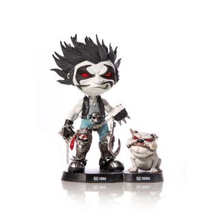 Lobo & Dawg Figure DC Comics Mini Co