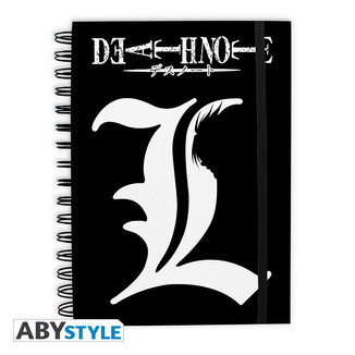 Cuaderno Death Note - L