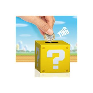 Hucha Nintendo - Bloque interrogación