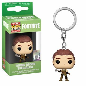 Llavero Tower Recon Specialist Fortnite POP!