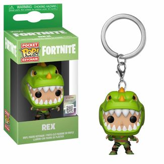 Llavero Rex Fortnite POP!