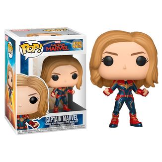 Captain Marvel Bobble-Head Funko PoP!