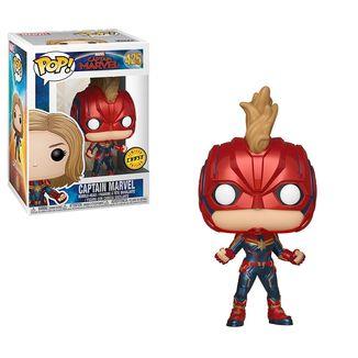 Funko Capitana Marvel Chase Cabeza Oscilante PoP!