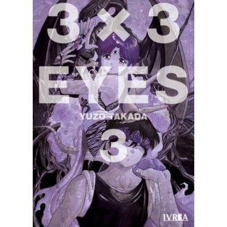 3 X 3 Eyes #03 Manga Oficial Ivrea
