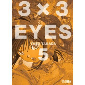 3 X 3 Eyes #05 Manga Oficial Ivrea