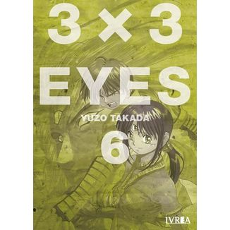 3 X 3 Eyes #06 (spanish) Manga Oficial Ivrea