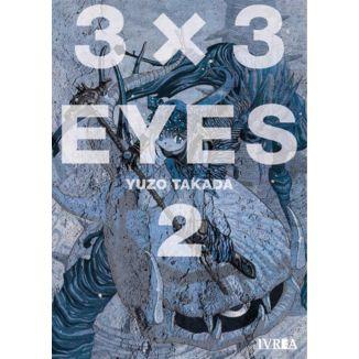 3 X 3 Eyes #02 Manga Oficial Ivrea