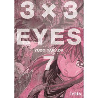 3 X 3 Eyes #07 Manga Oficial Ivrea