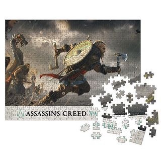 Fortress Assault Puzzle Assassin's Creed Valhalla 1000 Pieces