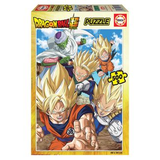 Puzzle 500 Piezas Dragon Ball Super