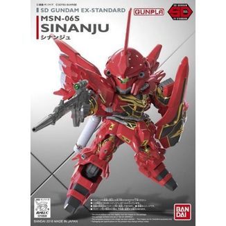 Model Kit MSN-06S Sinanju Gundam: SD EX-Standard