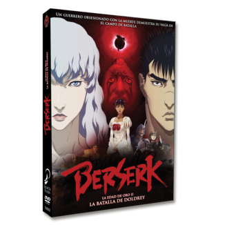 Berserk Golden Age Arc II - The Battle of Doldrey DVD