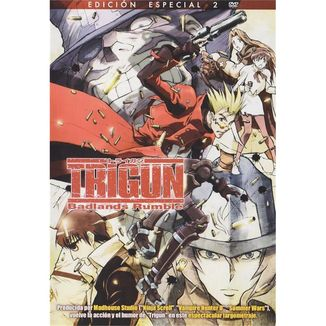 Special Editon Trigun Badlands Rumble DVD