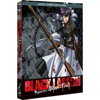 Black Lagoon Roberta's Blood Trail DVD
