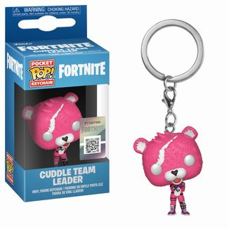 Cuddle Team Leader Key Chain Fortnite POP!
