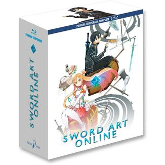 Complete First Season Sword Art Online Bluray