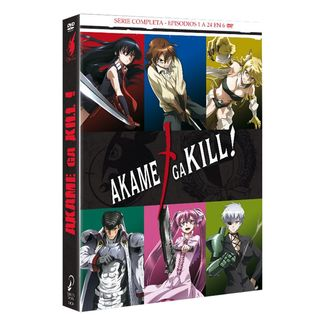 Akame Ga Kill Complete Series DVD