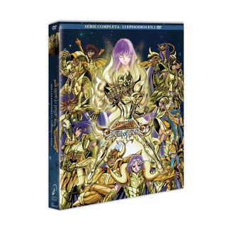Saint Seiya Knights of the Zodiac The Soul of Gold Complete Series DVD