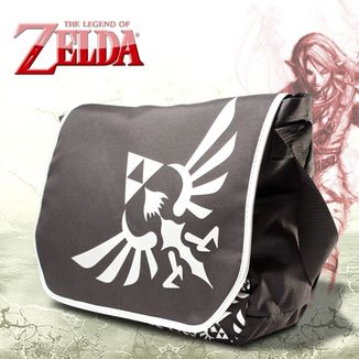 Bandolera The Legend of Zelda - Silver Logo