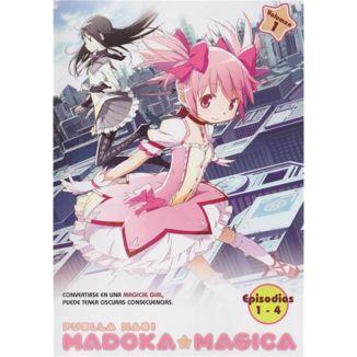 DVD Puella Magi Madoka Magica Volumen 1