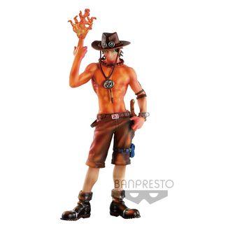 Figura One Piece - Portgas D. Ace Burning Color Ver. - Colosseum SCultures