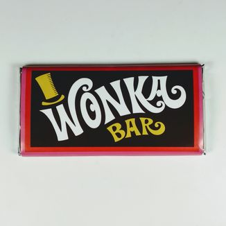 Wonka Bar Milk Chocolate Charlie And The Chocolate Factory