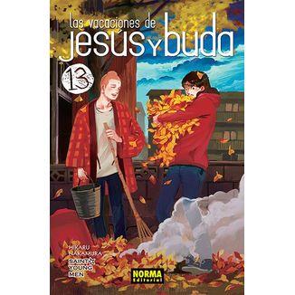 Las vacaciones de Jesús y Buda #13 Manga Oficial Norma Editorial (spanish)