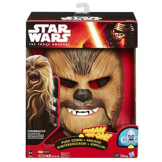 Electronic Mask Chewbacca Star Wars