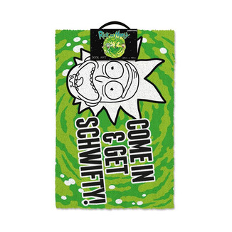 Felpudo Rick y Morty - Get Schwifty