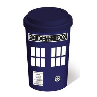 Taza de viaje Doctor Who - Tardis