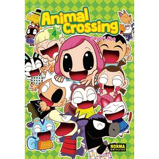 Animal Crossing #04 (Spanish) Manga Oficial Norma Editorial