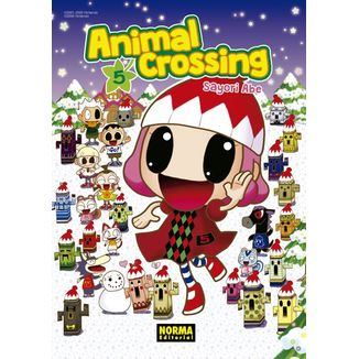 Animal Crossing #05 (Spanish) Manga Oficial Norma Editorial