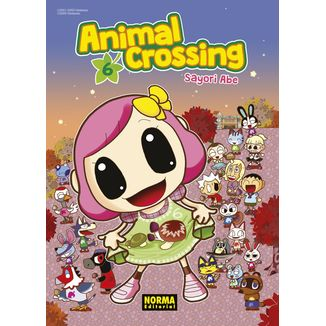 Animal Crossing #06 (Spanish) Manga Oficial Norma Editorial