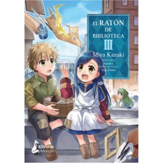El Raton de Biblioteca #03 Manga Oficial Kitsune Manga